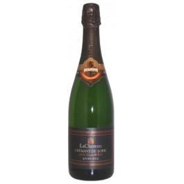 Putojantis vynas LaCheteau demi-sec Cremant de Loire AC