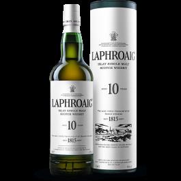 LAPHROAIG 10 YO Islay Single Malt Scotch Whisky