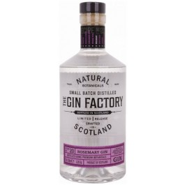 THE GIN FACTORY Rosemary Gin