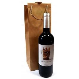 Vynas dovanų maišelyje