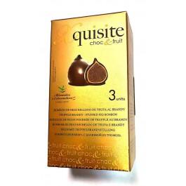 XQUISITE Figos šokolade, įdarytos brendžio kremu (Skanėstai)