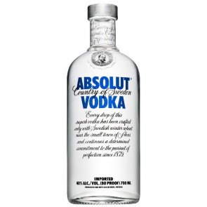 Absolut Vodka*