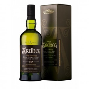 Viskis ARDBEG 10 YO Islay Single Malt Scotch Whisky