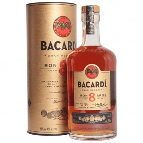 Ron BACARDI 8 Años Gran Reserva
