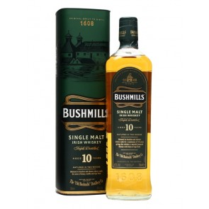 Viskis BUSHMILLS 10 YO Single Malt Irish Whiskey