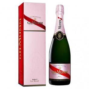 Champagne G.H.MUMM Brut Le Rosé dėžutėje
