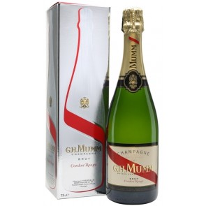 Champagne G.H.MUMM Cordon Rouge Brut dėžutėje