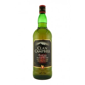 Clan Campbell Blended Scotch Whisky 1 l*