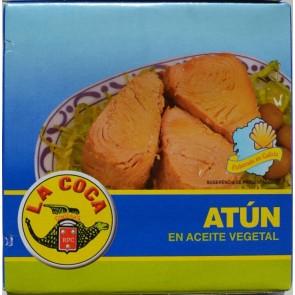 LA COCA dryžuotasis tunas augaliniame aliejuje