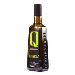 Quattrociocchi OLIVASTRO ekologiškas ypač tyras alyvuogių aliejus