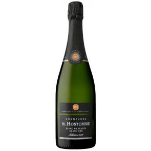 Champagne M. Hostomme MILLÉSIME Blanc de Blancs Brut Grand Cru