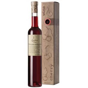 GINTARO SINO pusiau saldus Vyšnių vynas dėžutėje