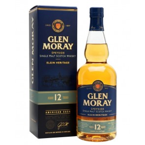 GLEN MORAY 12 YO Speyside Single Malt Scotch Whisky
