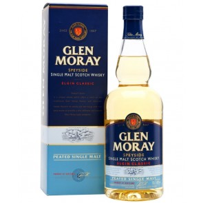 GLEN MORAY PEATED Speyside Single Malt Scotch Whisky