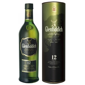 GLENFIDDICH 12 YO Single Malt Scotch Whisky (Viskis)