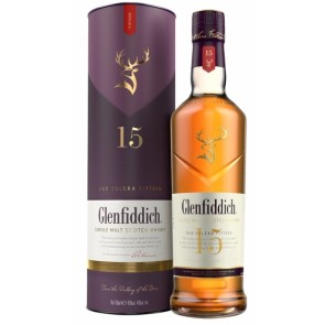 GLENFIDDICH 15 YO Single Malt Scotch Whisky
