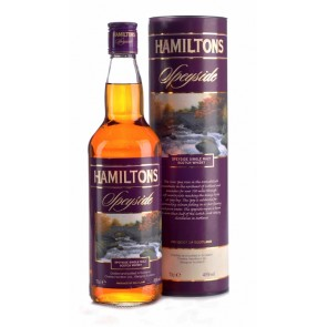 HAMILTONS Speyside Single Malt Scotch Whisky