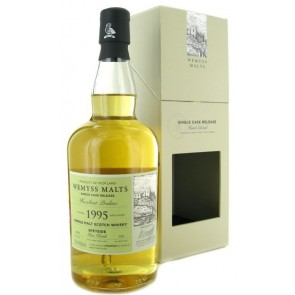 Wemyss Malts Glen Keith HAZELNUT PRALINE Speyside 22 YO 1995 Single cask