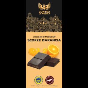 Cioccolato di Modica IGP SCORZE D'ARANCIA