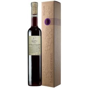 GINTARO SINO pusiau saldus Juodųjų serbentų vynas dėžutėje