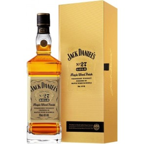 JACK DANIEL'S No.27 Gold Maple Wood Finish Tennessee Whiskey