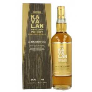 KAVALAN Ex-Bourbon Oak Single Malt Whisky*