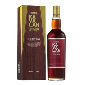 KAVALAN Sherry Oak Single Malt Whisky