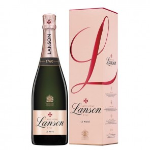 Champagne LANSON Brut Rose Label