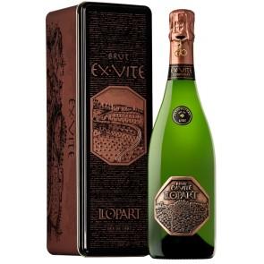 LLOPART EX·VITE Brut Gran Reserva Organic Corpinnat metalinėje dėžutėje
