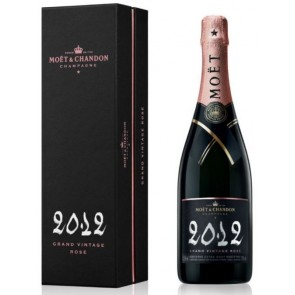 MOËT & CHANDON Grand Vintage Rose 2012 (su dėžute)