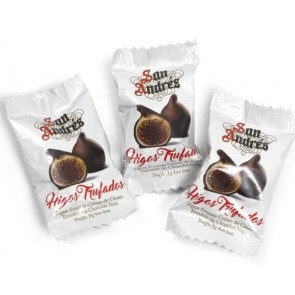 San Andrés figos su šokoladiniu triufelių įdaru 3 vnt.