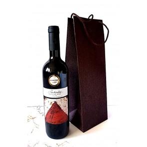 Vynas prabangiame maišelyje