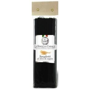 LE BONTA' DEL CASALE makaronai su sepijų rašalu