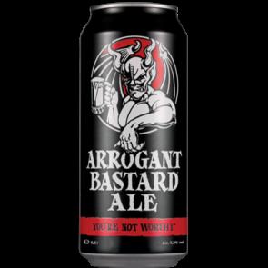 STONE Arrogant Bastard Ale skardinėje