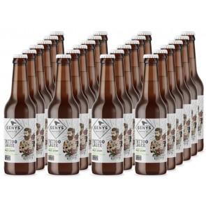 GENYS Tattoo Lager Organic. Dėžė 24 buteliai