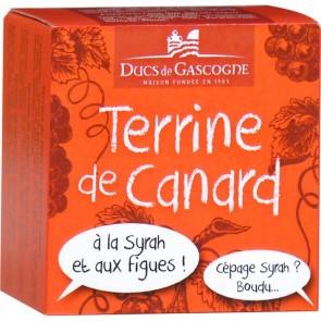 DUCS DE GASCOGNE antienos paštetas su Syrah vynu ir figomis