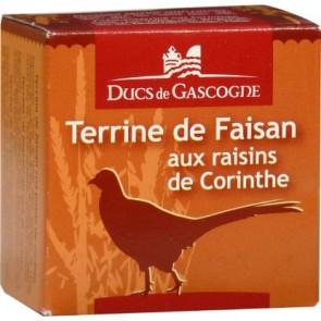 DUCS DE GASCOGNE fazanienos paštetas su Korinto razinomis