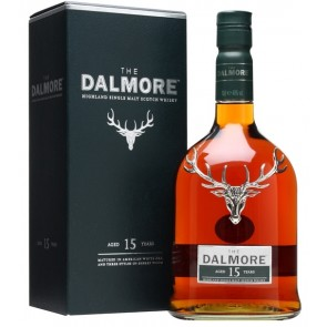 Viskis The DALMORE 15 YO Highland Single Malt Scotch Whisky