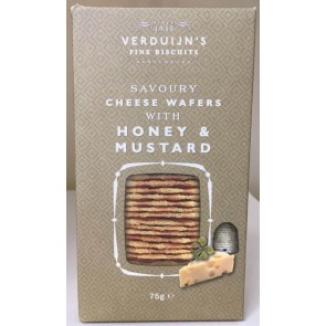 VERDUIJN's Cheese wafers with honey and mustard
