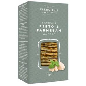 VERDUIJN's Pesto and Parmesan wafers