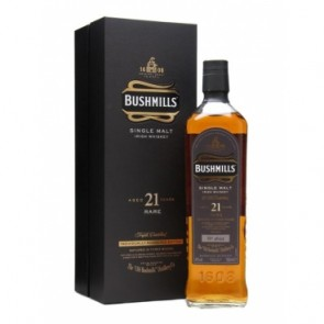 Viskis BUSHMILLS Single Malt 21 YO