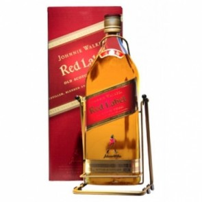 Viskis JOHNNIE WALKER  Red Label 3 l. su  dėžute ir stovu
