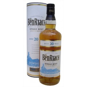 Viskis BenRiach 20 YO Single Malt