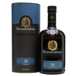 Viskis Bunnahabhain 18YO Single Malt