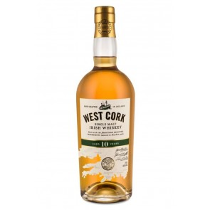WEST CORK 10 YO Single Malt Irish Whiskey