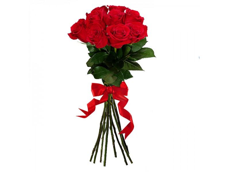 Rožių puokštės pristatymas