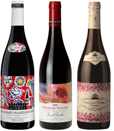 Beaujolais Nouveau (Božole) 2018 vynas