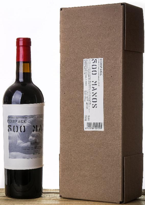 Bodegas San Valero PARTICULAR 500 MANOS Cariñena DOP kartoninėje dėžutėje